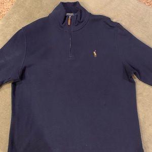 Ralph Lauren Polo Men's 1/4 ZIP Sweater